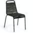 På billedet ser du variationen Lambton, Udendørs spisebordsstol fra brandet LaForma i en størrelse H: 84 cm. B: 49 cm. L: 59 cm. i farven Sort