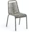 På billedet ser du variationen Lambton, Udendørs spisebordsstol fra brandet LaForma i en størrelse H: 84 cm. B: 49 cm. L: 59 cm. i farven Grå/Sort