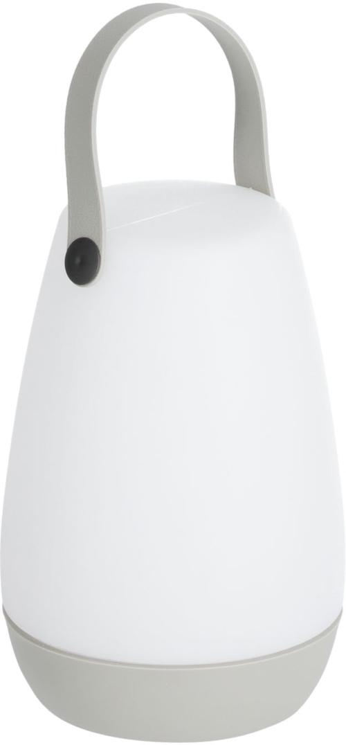 På billedet ser du variationen Dianela, Bordlampe fra brandet LaForma i en størrelse H: 28 cm. B: 13 cm. L: 13 cm. i farven Grå