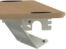 På billedet ser du variationen Universel kabelbakke, 96-166cm fra brandet ConSet i en størrelse H: 5,7 cm. B: 12,8 cm. L: 166 cm. i farven Hvid