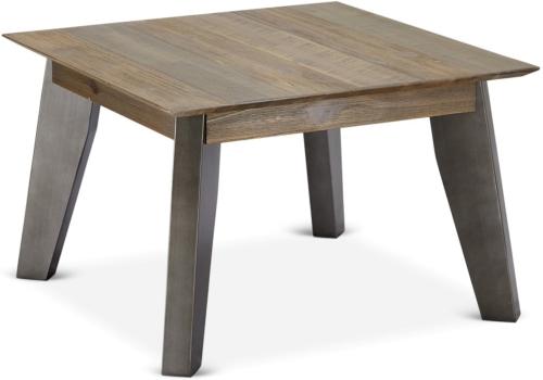 På billedet ser du variationen Derby, Hjørnebord, Akacietræ fra brandet Raymond & Hallmark i en størrelse H: 45 cm. B: 70 cm. L: 70 cm. i farven Brun